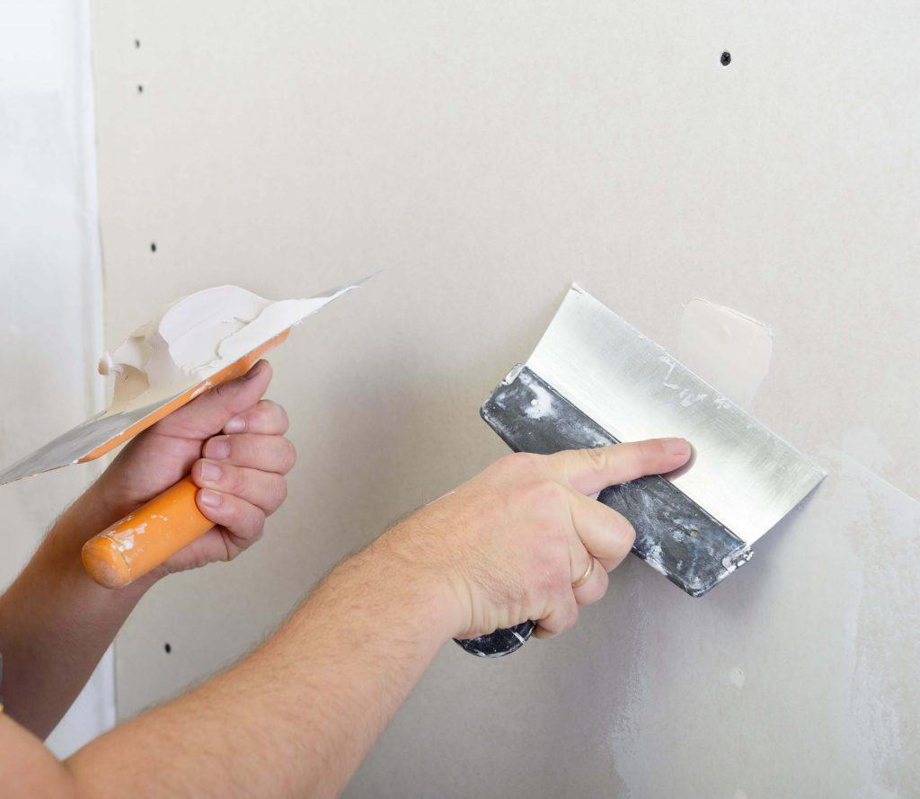 How to fix a hole on gyprock wall